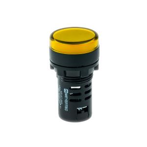 MT22-D25 Meyertec сигнальная лампа жёлтого цвета
