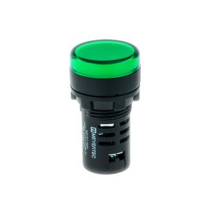 MT22-D33 Meyertec сигнальная лампа зелёного цвета 220V AC/DC IP40
