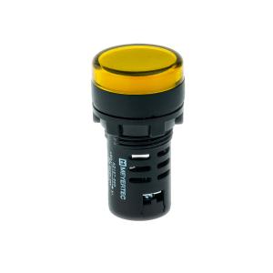 MT22-D75 Meyertec сигнальная лампа жёлтого цвета 380V AC IP40