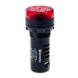 MT22-SM24 Meyertec звонок с подсветкой красного цвета