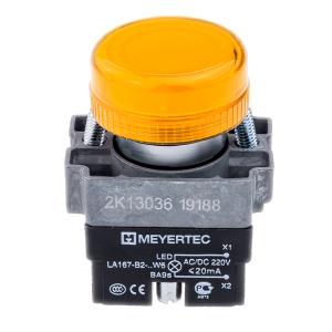 MTB2-BV635 сигнальная лампа 220V желтый Meyertec