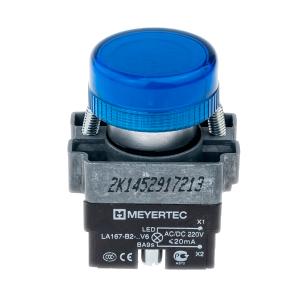 MTB2-BV636 сигнальная лампа 220V синий Meyertec