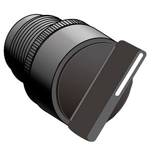 MTB2-ED2, MTB2-ED3, MTB2-ED4,  MTB2-ED5 головка переключателя с короткой ручкой Meyertec