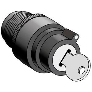 MTB2-EG0 головки переключателей с ключом Meyertec