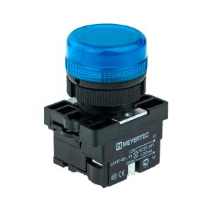 MTB2-EV616 Meyertec сигнальная лампа синего цвета в пластиковом корпусе