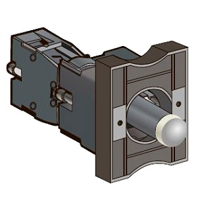 Основания с LED модулем подсветки и контактным блоком Meyertec