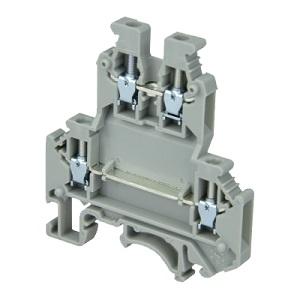 MTU-D2.5 клемма двухуровневая на 2,5 мм² MEYERTEC