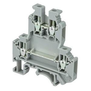 MTU-D4 клемма двухуровневая на 4 мм² MEYERTEC