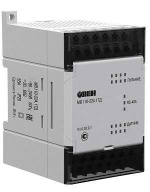 Модуль ввода-вывода МВ110-224.1ТД  ОВЕН