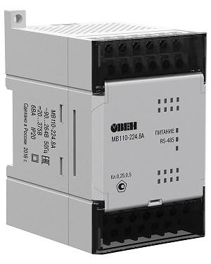 Модуль ввода-вывода МВ110-8А  ОВЕН