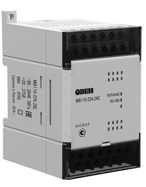 Модуль ввода-вывода МВ110-2АС ОВЕН