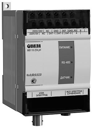Модуль ввода-вывода МВ110-224.pH ОВЕН СНЯТО С ПРОИЗВОДСТВА!
