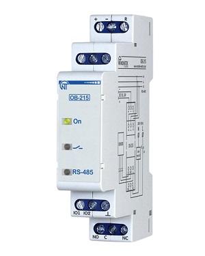 OB-215 цифровой модуль ввода-вывода Новатек-Электро