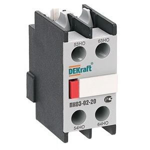 ПК03-02-11 приставка контактная Dekraft