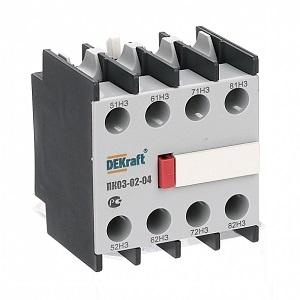 ПК03-02-40 приставка контактная Dekraft