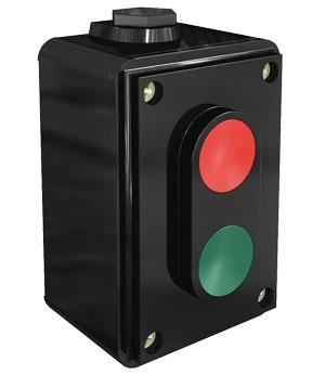 ПКЕ02-LA4-2H кнопочный пост Dekraft