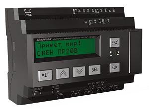 ПР200-220.4.2.0 программируемое реле ОВЕН для управления вентиляцией и исполнительными механизмами с УП 0-10 В
