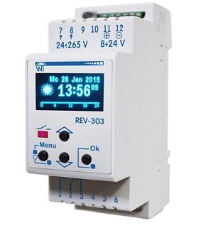 REV - 303 программируемый многофункциональный таймер Новатек-Эолектро