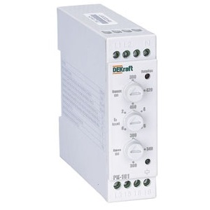 РК101-02 реле контроля фаз Dekraft