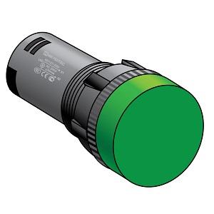 Сигнальные LED-лампы, диаметр 16 мм, степень защиты IP40 Meyertec