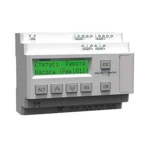 СУНА-121 ОВЕН контроллер для групп насосов с поддержкой датчиков 4…20 мА и RS-485