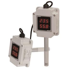 Датчики температуры и влажности серии THD Autonics