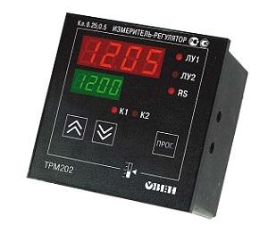 ТРМ202 ОВЕН измеритель-регулятор двухканальный с RS-485