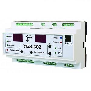 УБЗ-302 универсальный блок защиты асинхронных электродвигателей Новатек-Электро