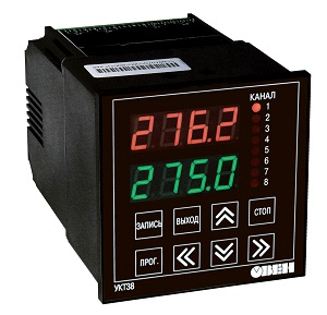 УКТ38-Щ4.ТП, УКТ38-Щ4.ТС и УКТ38-Щ4.АТ ОВЕН измерители для подключения термопар  и датчиков