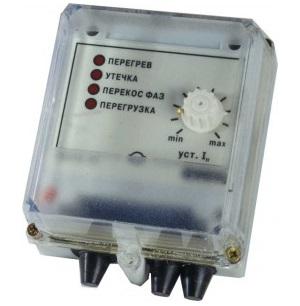 ОВЕН УЗОТЭ-2У устройство защитного отключения трехфазного электродвигателя