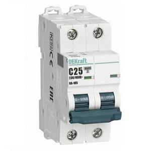 ВА105-2Р-001А-B автоматический выключатель DEKRAFT