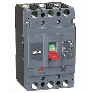 ВА332-3Р-0016А-A силовой автоматический выключатель Dekraft