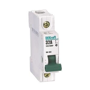 ВН103-1P-020A выключатель нагрузки Dekraft