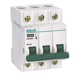 ВН103-3P-020A выключатель нагрузки Dekraft