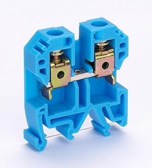 ЗН101-2-24A-07 синий наборный зажим Dekraft