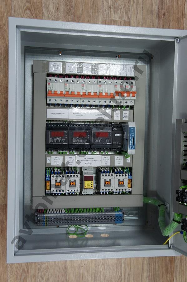 Автоматизация индивидуального теплового пункта (ИТП) на базе приборов автоматики ОВЕН